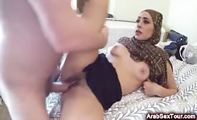 Missionary And Doggy Style Feels Fucking Amazing For This Arab Teen